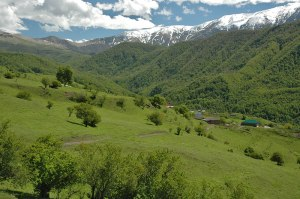 Chechen Highlands, near Itum Kale, Chechen Republic, Russia