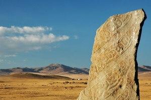 Deer Stone, Near Orkhon,  Bulgan Province, Mongolia