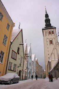 Old City, Tallinn, Estonia