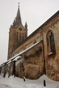 St. John The Baptist Church, Cēsis, Latvia