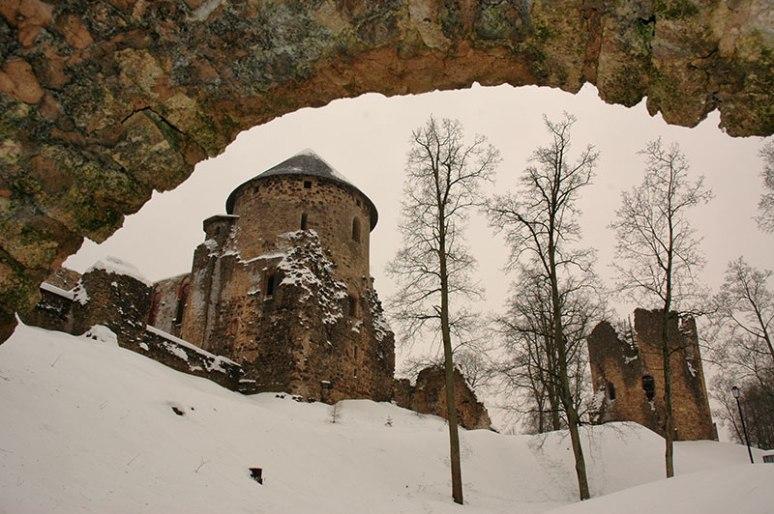 Cēsis Castle, Cēsis, Latvia