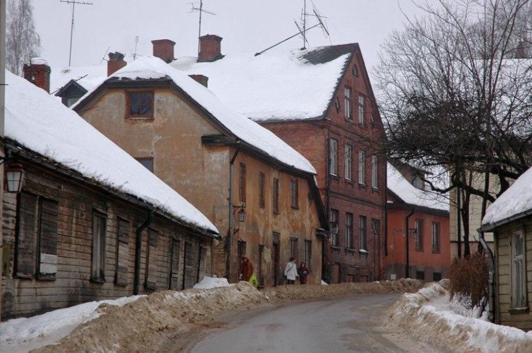 Street, Cēsis, Latvia