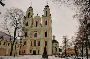 St. Catherine Church, Vilnius, Lithuania