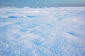 Frozen Baltic Sea, Narva-Jõesuu, Estonia