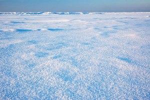 Frozen Baltic Sea, Narva-Jõesuu, Estonia