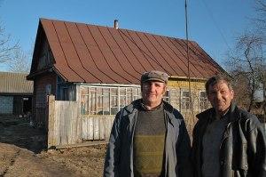 Belarussian Men, Brahin, Homyel' Region, Belarus