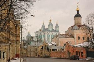 Assumption Cathedral & Trinity Monastery, Smolensk, Smolensk Region, Russia