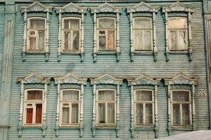 Wooden House, Ulyanovsk, Ulyanovsk Region, Russia