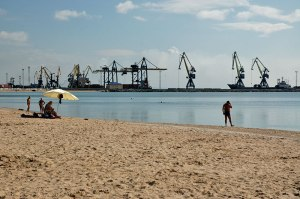 Azov Sea, Mariupol, Donetsk Region, Ukraine