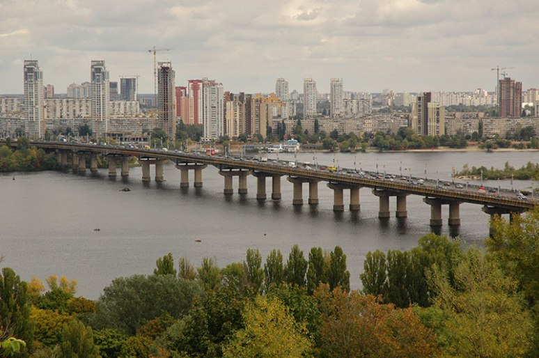 Dnieper River, Kyiv, Ukraine