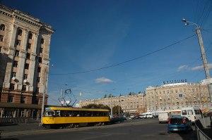 Petrovskogo Square, Dnipropetrovsk, Dnipropetrovsk Region, Ukraine