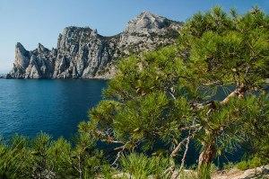 Black Sea Coastline, Novyi Svit, Crimean Autonomous Republic, Ukraine