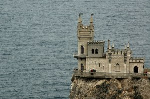 Swallow's Nest, Haspra, Crimean Autonomous Republic, Ukraine