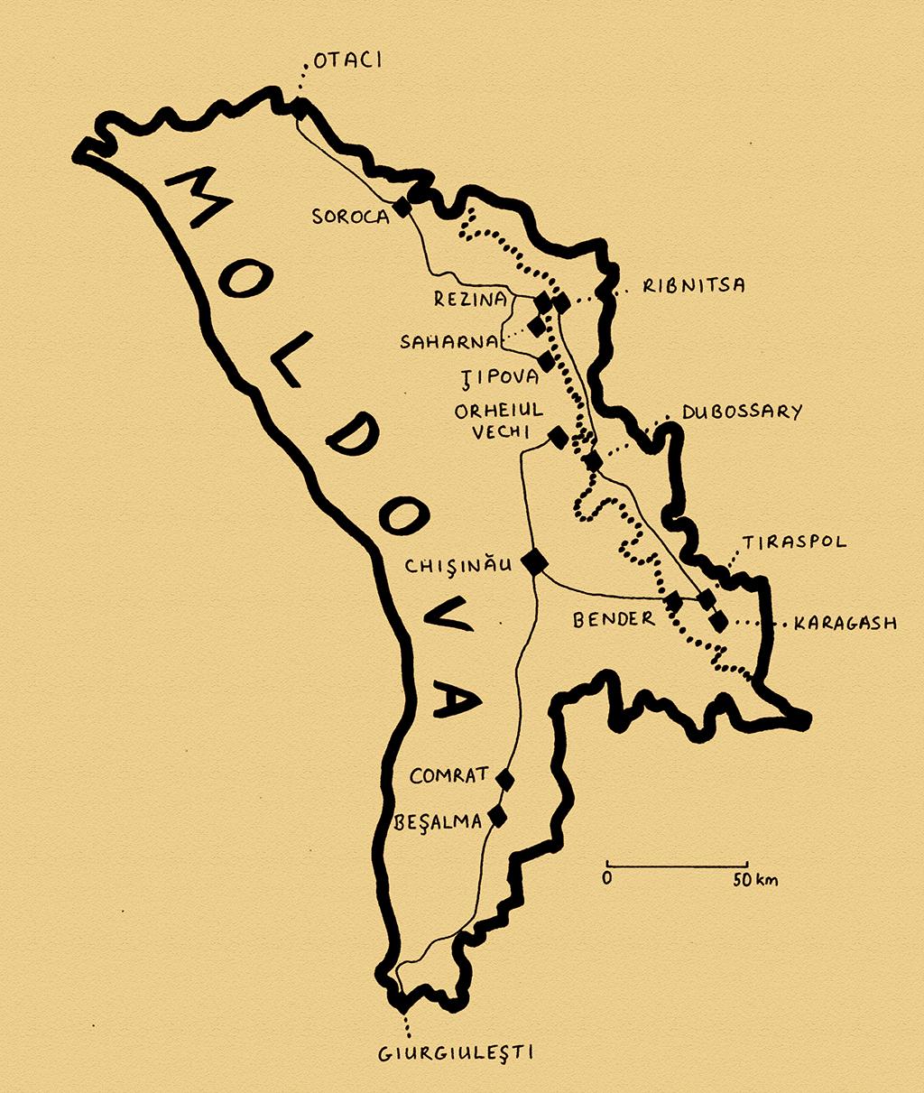 Stage 31 – Moldova & Transnistria: Bessarabia | EurasiaOverland