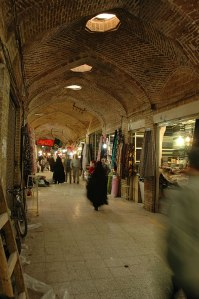 Vaulted Bazaar, Qazvin, Qazvin Province, Iran