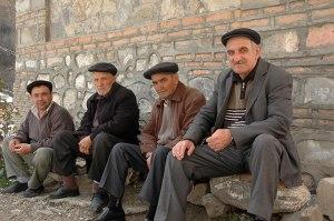 Azerbaijani Men, Shaki, Shaki-Zaqatala Region, Azerbaijan