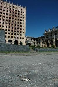 Parliament Building, Sukhumi, Abkhazia