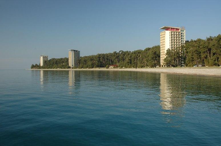 Seafront, Pitsunda, Abkhazia