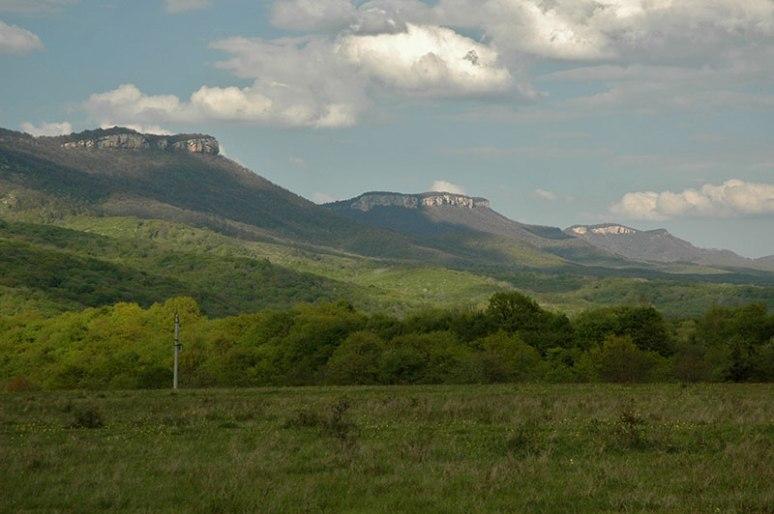 Western Caucasus, near Kammenomostsky, Adygea Republic, Russia