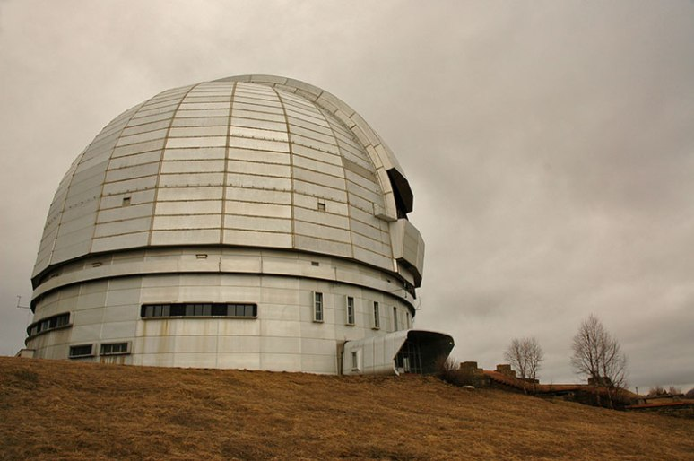 BTA-6 Telescope, Nizhny Arkhyz, Karachay-Cherkess Republic, Russia