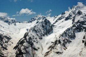 Greater Caucasus, Dombay, Karachay-Cherkess Republic, Russia
