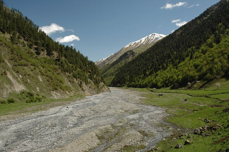Zgubir Valley, South Ossetia