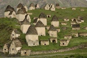 Necropolis, Dargavs, North Ossetia-Alania Republic, Russia