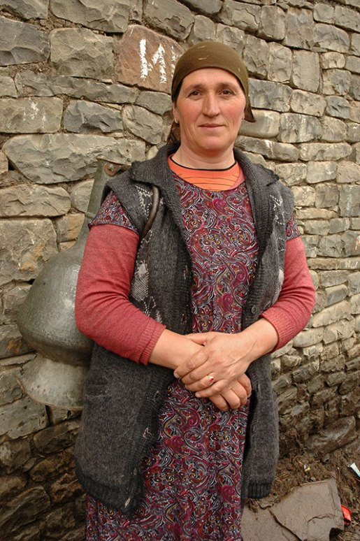 Lak Woman, Richa, Dagestan Republic, Russia