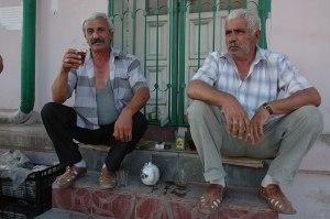 Azerbaijani Men, Derbent, Dagestan Republic, Russia