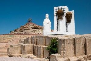 Monument to Exile, Fort Shevchenko, Mangystau Region, Kazakhstan