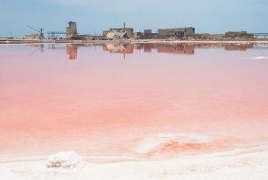 Sodium Sulphate Pool, Garabogaz, Balkan Region, Turkmenistan