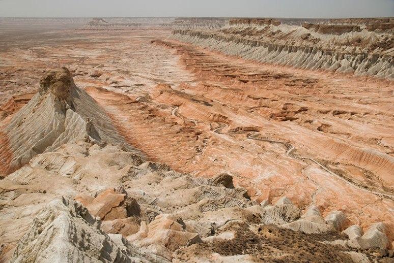 Yangykala Canyon, Balkan Region, Turkmenistan