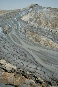 Ak Patlawuk Mud Volcano, Balkan Region, Turkmenistan