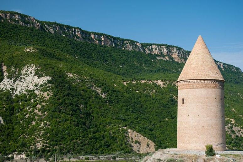 Radkan Tower, Golestan Province, Iran