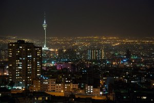 Nightscape, Tehran, Iran