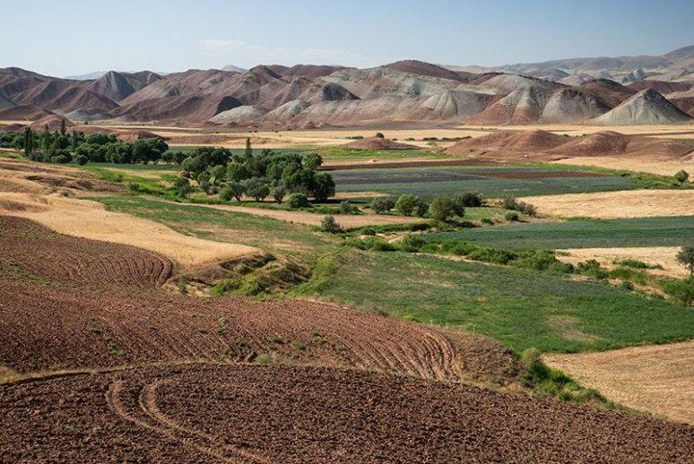 Landscape, near Karasaf, Zanjan Province, Iran