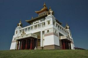 Golden Temple, Elista, Kalmyk Republic, Russia