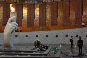 Remembrance Hall, Mamayev Kurgan, Volgograd Region, Russia