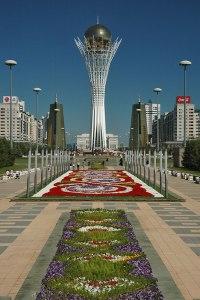 Bayterek Tower, Astana, Kazakhstan