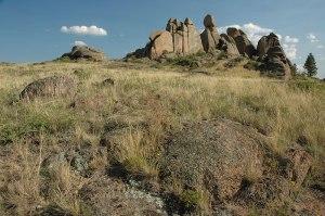 Volcanic Rocks, Bayanaul, Pavlodar Region, Kazakhstan