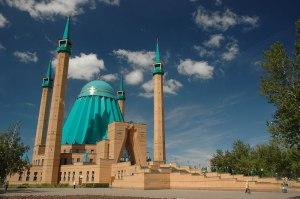 Mashkhur Jusup Mosque, Pavlodar, Pavlodar Region, Kazakhstan