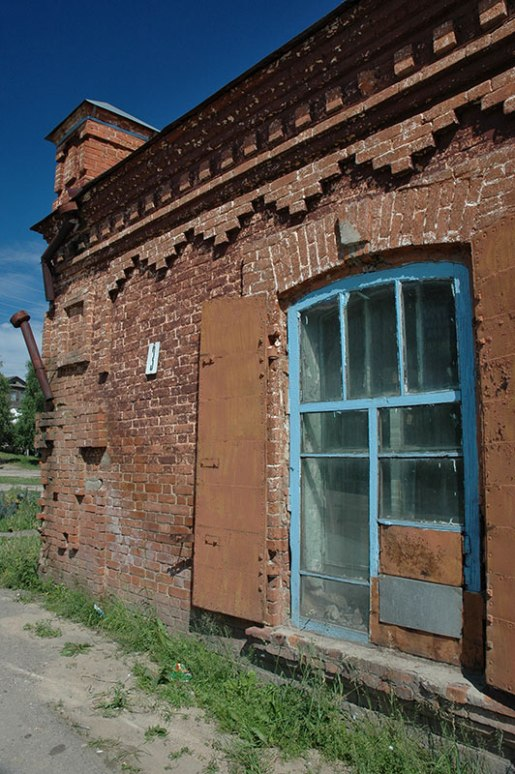 Tsarist Building, Zmeinogorsk, Altai Territory, Russia