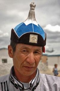 Kazakh Man, Ölgii, Bayan-Ölgii Province, Mongolia