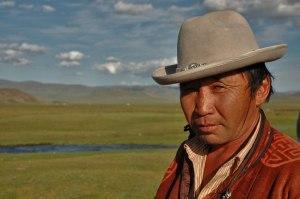 Mongol Man, near Yaruu, Zavkhan Province, Mongolia