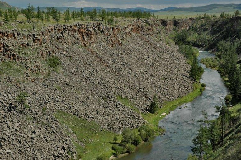 Chuluut River Canyon, near Tariat, Arkhangai Province, Mongolia