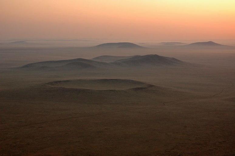 Dariganga Volcanic Field, Sükhbaatar Province, Mongolia