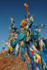 Ovoo, Mt. Shiliin Bogd, Sükhbaatar Province, Mongolia