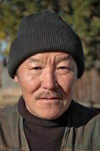 Buryat Man, Suvo, Buryatia Republic, Russia