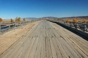 Ina River Bridge, Buryatia Republic, Russia