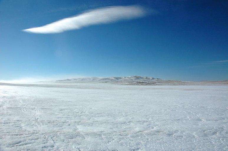 Landscape, near Tsagaan-Uul, Khövsgöl Province, Mongolia